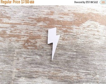 ON SALE Lightning Bolt Stamping Blank,  lighting bolt stamping blank, bolt blank, lighting blank, lighting bolt, jewelry blanks, hand stamp,