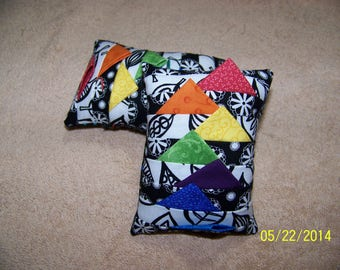 prarie points pin cushions