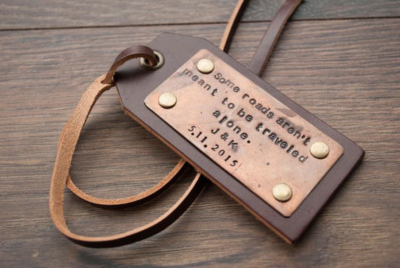 Personalized Luggage Tag Leather Luggage Tag Travel