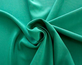 305079-Crepe marocaine Natural Silk 100%, width 130/140 cm, made in Italy, dry cleaning, weight 215 gr