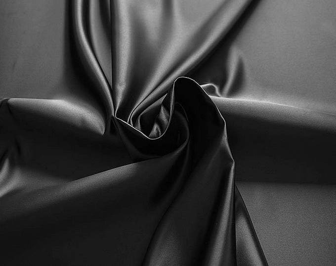 978201-Satin 100% polyester, width 150 cm, made in Italy, dry cleaning, weight 260 gr