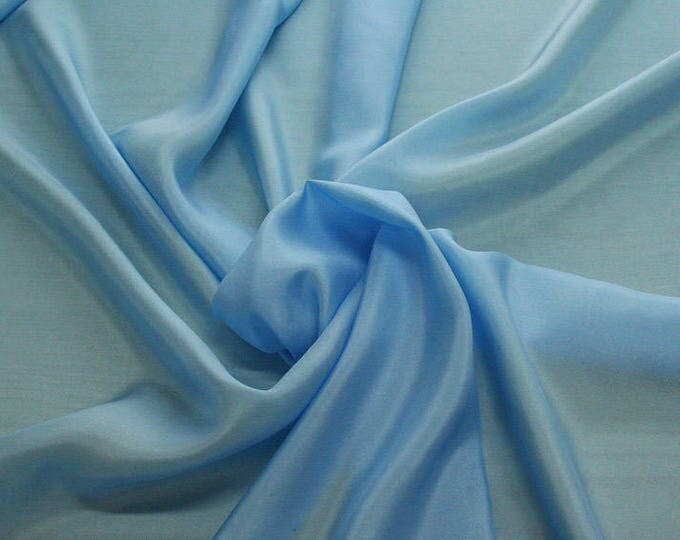 402145-taffeta natural silk 100%, width 110 cm, made in India, can be used liner, dry wash, weight 58 gr