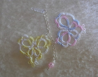 Portable tatting jewelry and beads