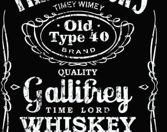 Doctor Who: The Doctor's Gallifrey Whiskey T-Shirt