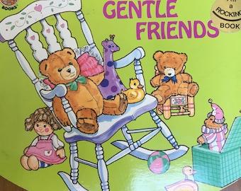 Gentle Friends Rock-A-Bye Preschool Board Books..Vintage 1989