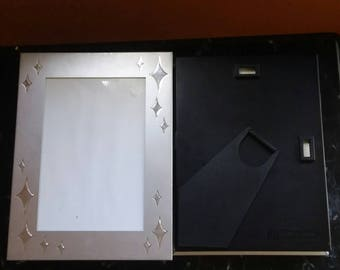 2 Silver Picture Frame/Photo Albums.