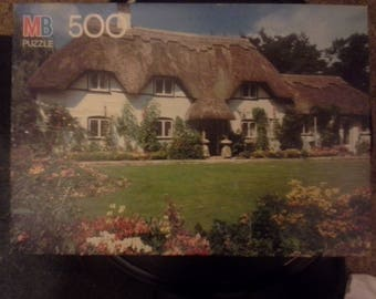 Vintage 1989 MB Croxley jigsaw puzzle