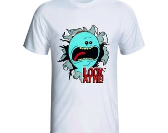 Rick and Morty, I'm Mr Meeseeks LOOK AT ME shirt, Scud the Disposable Assassin, boy friend gift, Rick and Morty fan gift idea
