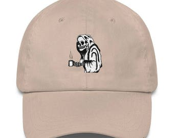 Coffee Please Tired Parent Embroidered Dad Hat by The Bad Dads Club