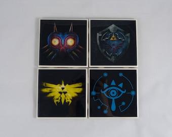 Legend of Zelda Coaster Set