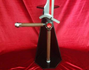 """Capcom Strider Hiryu's Cypher sword """"Falchion"""" (MADE TO ORDER)"""