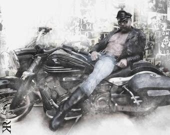 KR Tom of Finland Tribute Series #1