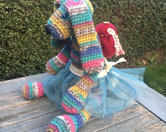 Easter Bunny/Easter Gift/Crochet Bunny/Crochet Rabbit/Plush Bunny/Plush Rabbit/Nursery Decor