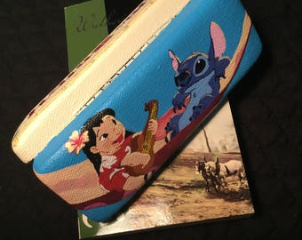 Lilo and Stitch Inspired Eyeglass Case