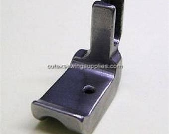 Left Piping Welting Foot For Industrial Single Needle Sewing Machines