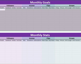 Goal & Stat Tracker for Twitch Streamers