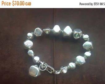 ON SALE Vintage 950 Silver Bracelet