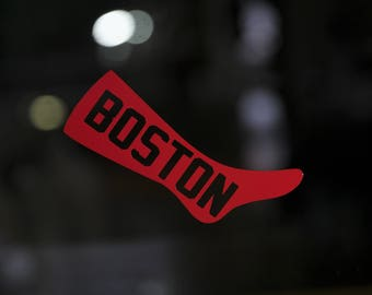 Boston Red Sox Etsy - Custom vinyl decals boston