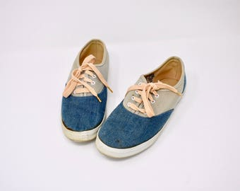 vintage sneakers / Just for kicks tennis shoes / size 7