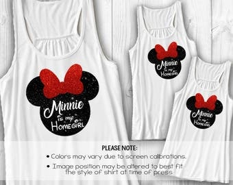 Minnie is my homegirl Disney shirt