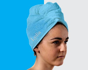 Personalised Hair Towel