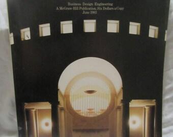 1983 ** Architecture Record June 1983 Magazine  ** sj