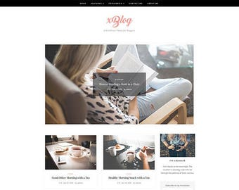 XBlog - WordPress Theme - WordPress Blog Theme - WordPress Template - WordPress Responsive - WordPress Blog - WordPress Theme Blog