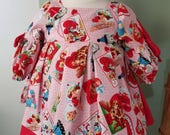Retro Valentine's Nora Dress- ready to ship 3-6months