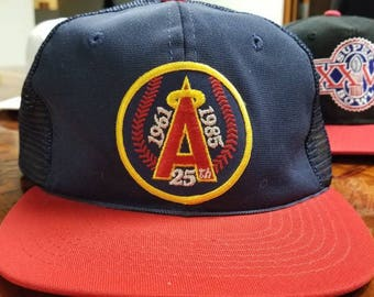 California angels snapback, snap back, dead stock, 90s,vtg vintage hat,MLB hat, baseball hat, sports specialties hat, youngan hat