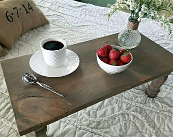 SALE!!!!Bed tray table with legs