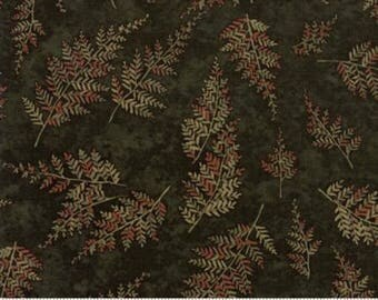 Autumn Reflections Green Shadow 6714 15 - Moda Fabrics 100% Cotton Quilting Fabric by Holly Taylor
