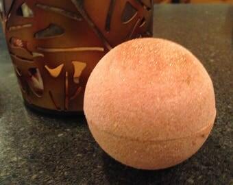 Beery Pumpkin! Pumpkin Lager Bath Bomb/Fall Bath/Orange Bronze/Glitter Bath/Autumn/Spice Bath Bomb