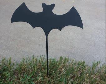 metal yard art etsy - Metal Halloween Decorations