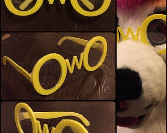 OwO Fursuit Glasses