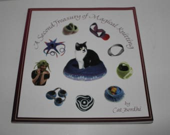 A Second Treasury of Magical Knitting, Knitting Book, Knit Patterns, How To book, Felting Book