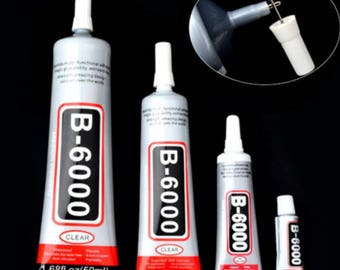 Glue, Industrial Glue, Rhinestone Glue, Craft Glue, Adhesive, Bling Glue, Jewellery Glue, Jewelry Glue, Art Glue,  B6000,