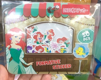 Ariel, Little Mermaid Disney stickers, scrapbooking, planning