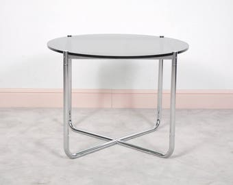 MR Side Table designed by Ludwig Mies Van Der Rohe for Knoll International