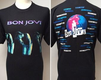 Vintage Bon Jovi These Days 1995 Tour T Shirt Size XL
