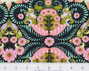 "Tula Pink ""Slow & Steady"" by Free Spirit ~ The Tortoise ~ Strawberry Kiwi PWTP085 ~ By The Half Yard ~"