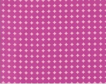 "Moda ""Hey Dot"" by Zen Chic ~ STARRY DOT ~ 1607 15 Fuchsia ~ Half Yard Increments"