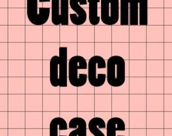 Custom deco case listing