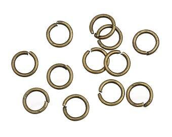 300 5mm bronze jump rings