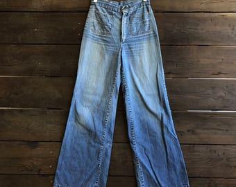 Vintage 70s Bell Bottom Jeans