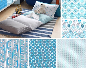 5 Pillow Bed - Pillow Mattress - Pattern Block Pillow Bed