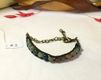 Multi Beaded Bracelet.