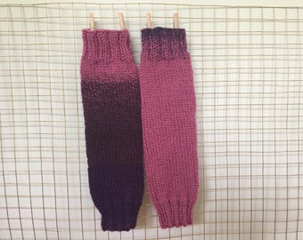 Blackberry Legwarmers