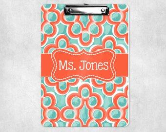 Teacher Clipboard | Teachers Gift  | Personalized Gift | Student Gift | Monogram Clipboard | Custom Clipboard | Teacher Gift