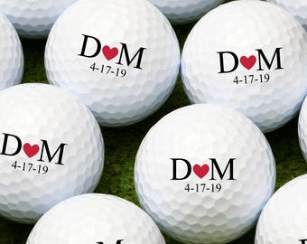Double Initial Personalized Golf Balls - Bulk Price Available (MIC-JM5568327)