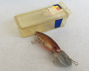 Storm Hot N Tot Pre Rapala H62 Crawfish in Box Marked H68 Florescent  Rainbow